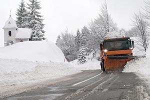Machine Snow Clearance